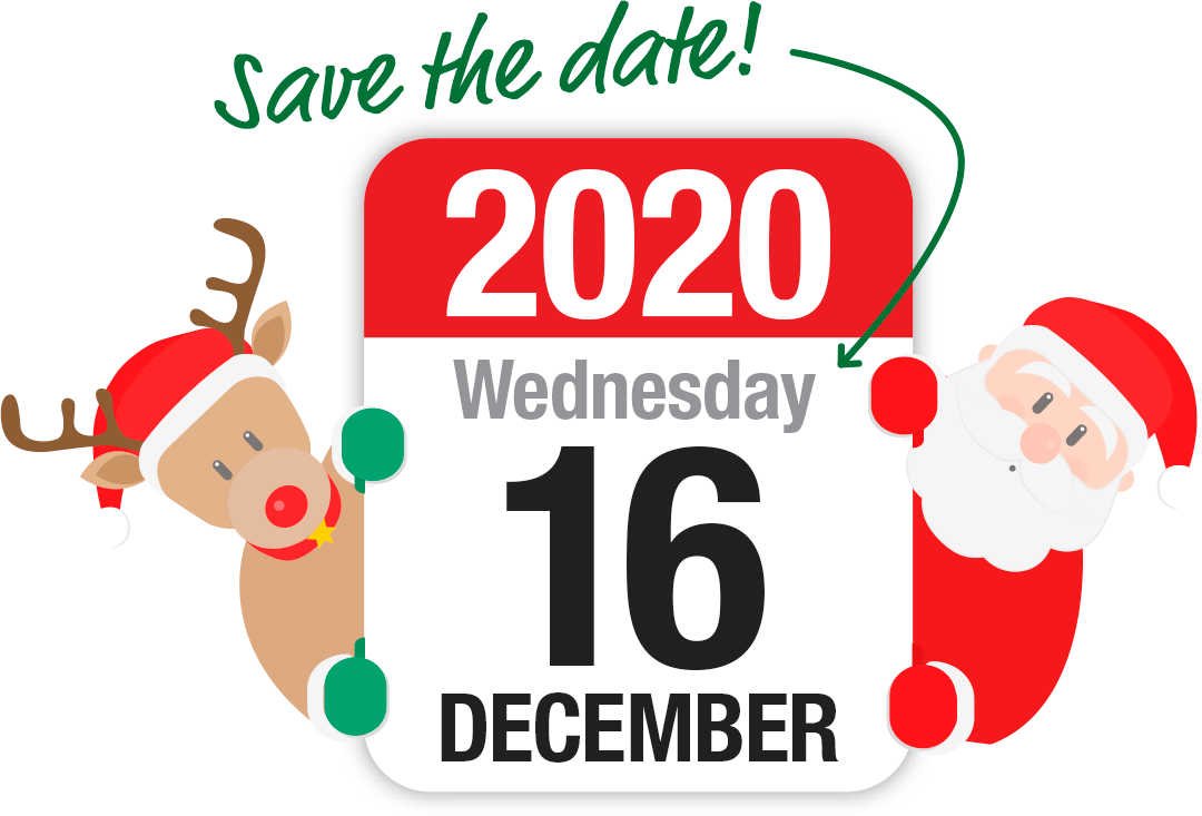 Save the date! Christmas Traveleague for 2020 is planned for Wednesday, 16th December 2020
